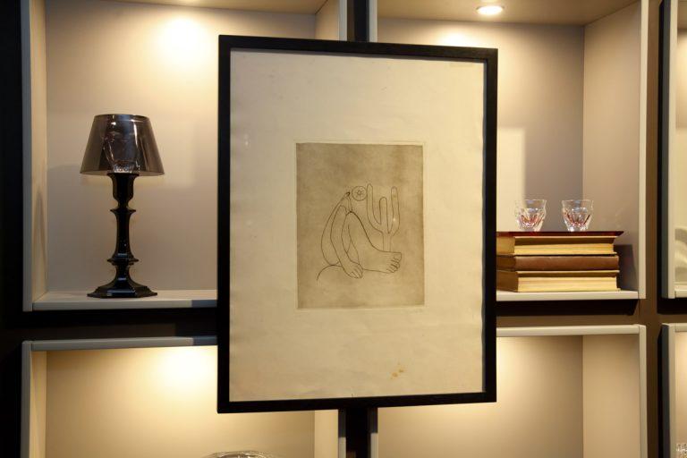Gravura da Obra Abaporu - Tarsila do Amaral