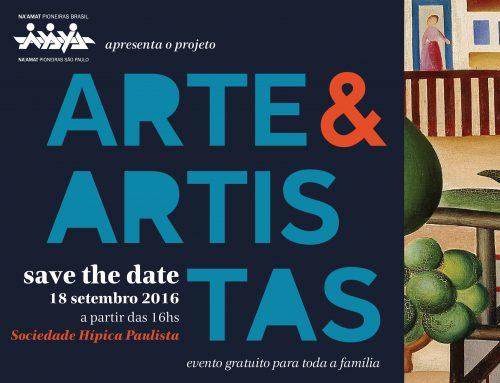 "Na'amat Pioneiras convidam para evento beneficente ""Arte & Artistas"" na Sociedade Hípica Paulista"