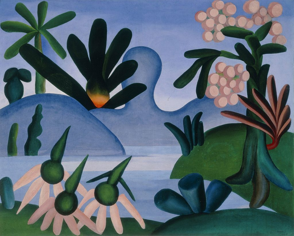 O lago - Tarsila do Amaral
