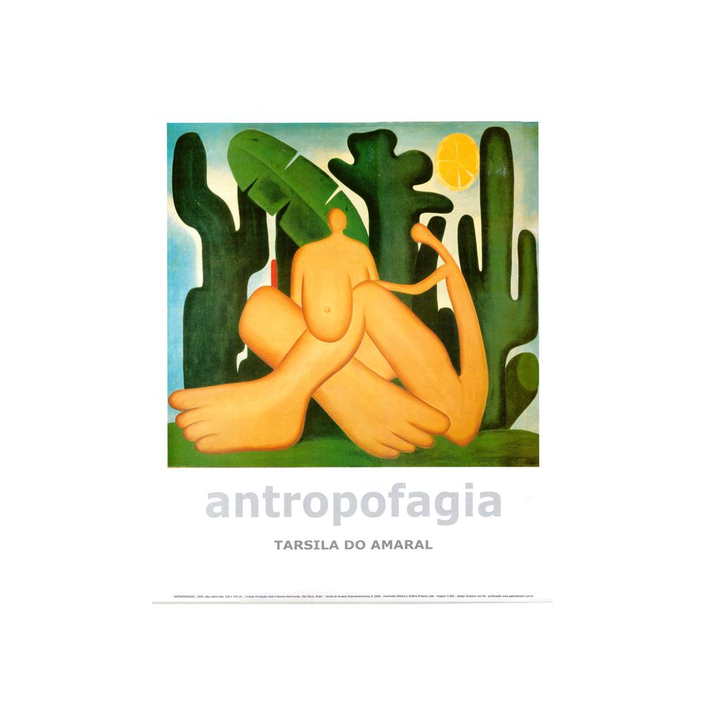 Poster Antropofagia