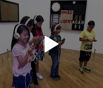 Tecnologia da IBM permite conversar com a obra São Paulo de Tarsila do Amaral na Pinacoteca de SP