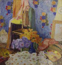 Margaridas de Mário de Andrade , 1922 , Tarsila do Amaral  Reprodução fotográfica Romulo Fialdini