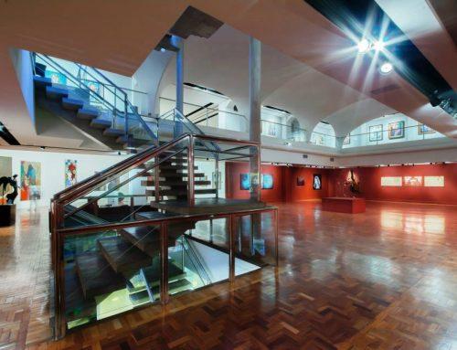 Tarsila do Amaral no Museu Inimá de Paula em Belo Horizonte/MG