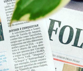 A exposição de Tarsila do Amaral no #MoMa estreia dia 11.02. A imprensa brasileira começa a repercutir detalhes dessa superprodução!