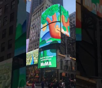 MoMA põe Tarsila do Amaral na Times Square, em Nova York