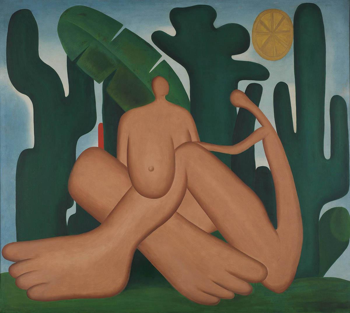 'Antropofagia', de Tarsila do Amaral (1929)