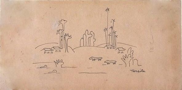 desenho-raro-tarsila