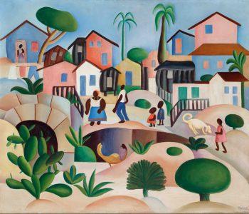 Exposição com obras de Tarsila do Amaral no MASP mostra sua relação com o popular