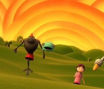 """Lançamento da música tema do filme de animação """"Tarsilinha"""""""